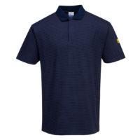 Anti-Static ESD Polo Shirt – Navy