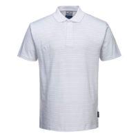 Anti-Static ESD Polo Shirt – White