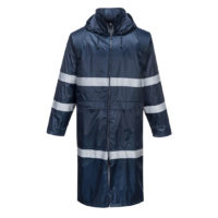 Classic Iona Rain Coat – Navy