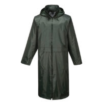 Classic Adult Rain Coat – Olive Green