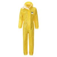 BizTex Microporous Coverall Type 3/4/5/6 – Yellow