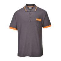 Portwest Texo Contrast Polo Shirt – Grey