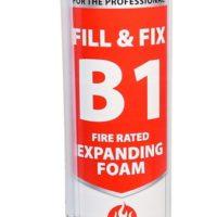 Fill & Fix Fire Rated Expanding PU Foam – B1 – Hand Held