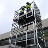 AGR Double Width 232 Frame Access 3.0 x 1.35m Scaffold Tower