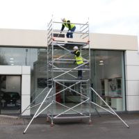 3T Double Width 232 Frame Access 2.0 x 1.35m Scaffold Tower