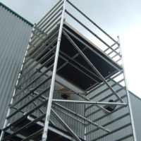 3T Double Width Frame Access Scaffold Tower (2.0m)