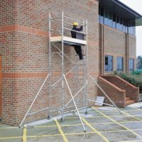 3T (3×0.7m) Single Frame Scaffold Tower