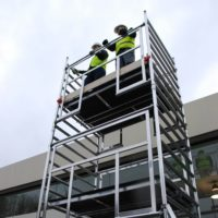 AGR Double Width 232 Frame Access 2.0 x 1.35m Scaffold Tower