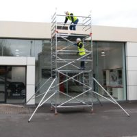 3T Double Width 232 Frame Access 2.5 x 1.35m Scaffold Tower