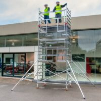 AGR Double Width 232 Frame Access 2.5 x 1.35m Scaffold Tower