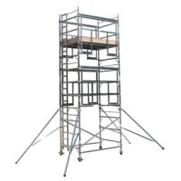 AGR Double Width Vertical Ladder 2.0 x 1.35m Scaffold Tower