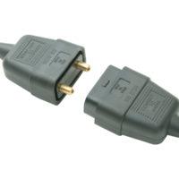 Black Plug & Socket