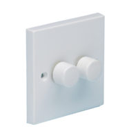 2-Way Dimmer Switch 400W 2-Gang Clam Pack
