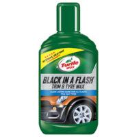 Black in a Flash Trim & Tyre Wax 300ml