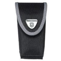 Black Fabric Belt Pouch
