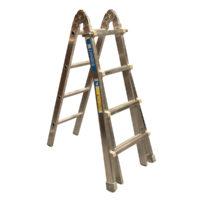 Utility Ladder 3-Part 3 x 4 Rungs