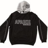 Black / Grey Hooded Sweatshirt