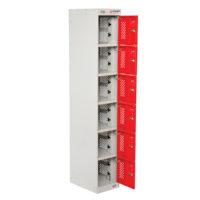 PowerStation™ 6 Door Charging Locker 300 x 450 x 1800mm