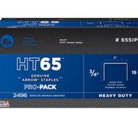 HT65S Staples 19mm (3/4in) Pack 600