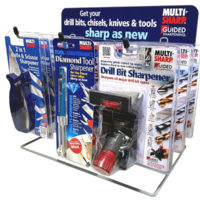 Sharpening Display Knife/Drill/Multipurp