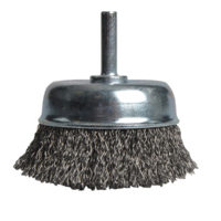 X36040 Wire Cup Brush 75mm x 6mm Shank