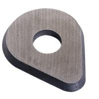 625-PEAR Carbide Edged Scraper Blade