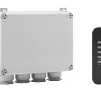 Outdoor 3-Way Switch Box & Remote