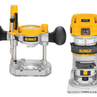 D26204K Plunge & Fixed Base Router