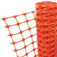 Orange Barrier Fencing 1m x 50m
