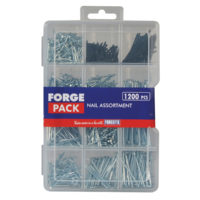 Assorted Nail Kit ForgePack 1200 Piece