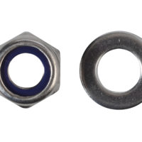 Hexagonal Nuts with Nylon Inserts, S/S
