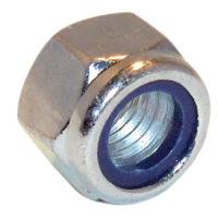 Hexagonal Nuts with Nylon Inserts, ZP