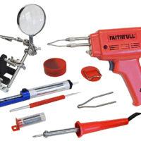 SGKP Soldering Gun 100W & Iron Kit 30W 240V