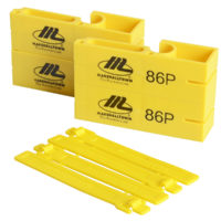86P Plastic Line Blocks (Pack 2)