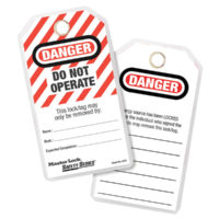 Lockout Tags (12) – DANGER DO NOT OPERATE