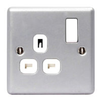 Metal Clad Switched Socket