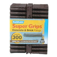 Solid Wall Super Grips™