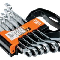 1RM Series Ratcheting Combination Wrench, Metric