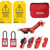 Electrical Lockout Kit, 9 Piece