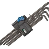 967/9 TORX XL BL HF L-Key Set of 9 (TX8-TX40)
