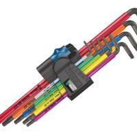 967/9 TORX XL BL MC HF L-Key Set of 9 (TX8-TX40)