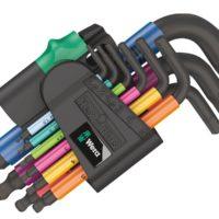 950/9 Hex-Plus Multicolour L-Key Set, 9 Piece (1.5-10mm)